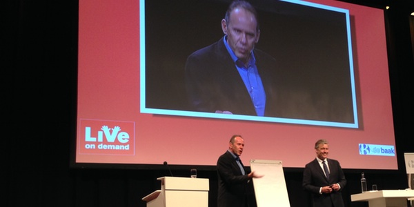 Ricardo Semler and Charles Groenhuijsen at Live on Demand - June 24th, 2014