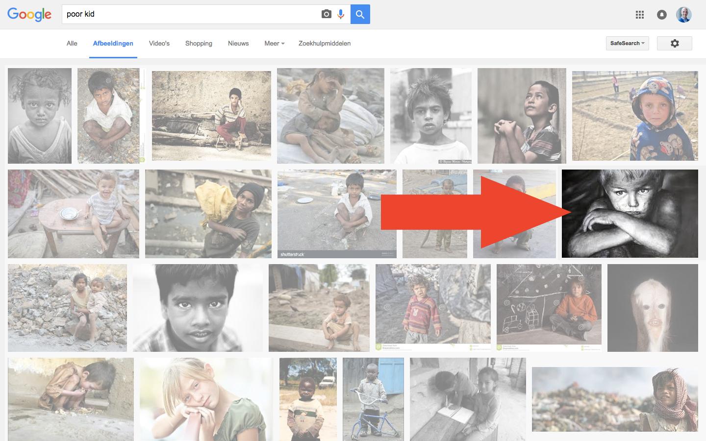 Google - Poor kid